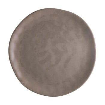 Farfurie din porțelan pentru pizza Brandani Pizza, ⌀ 26 cm, maro de la Brandani