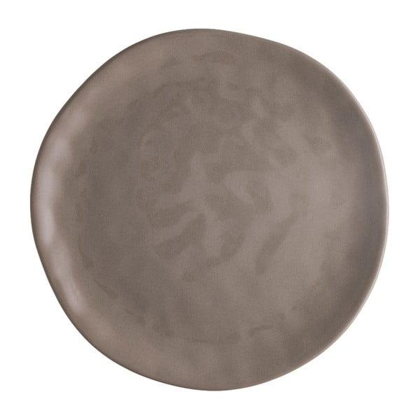 Pizza barna porcelán pizzatányér, ⌀ 26 cm - Brandani