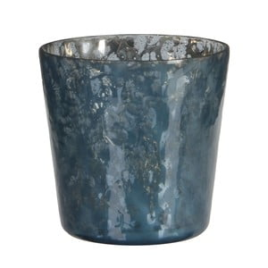 Stojan na svíčku Benito Dark Blue, 10x11 cm