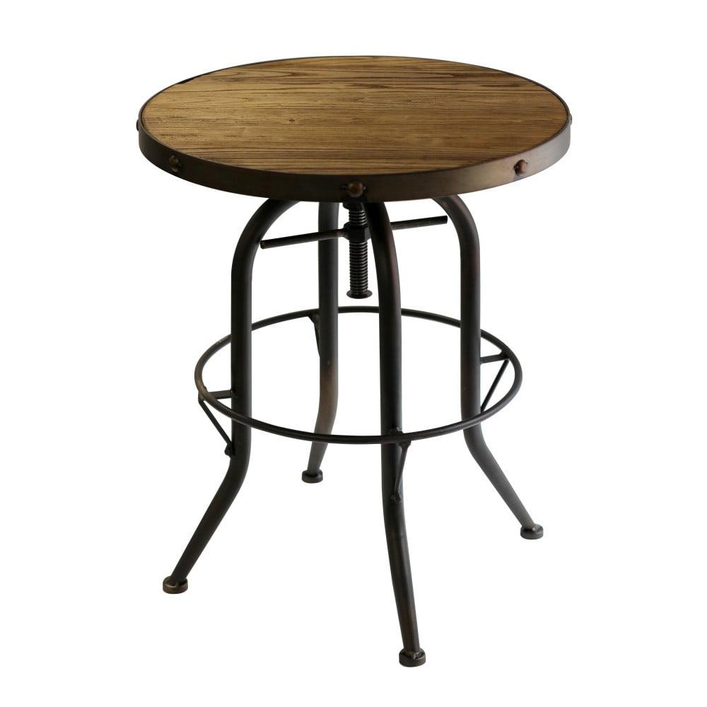 Odkládací stolek z jilmového dřeva Red Cartel Cassidy