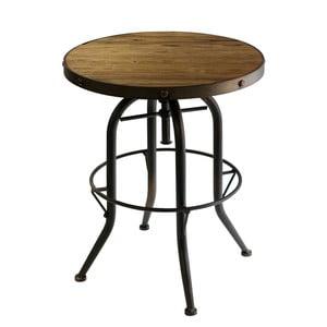 Odkládací stolek s deskou z jilmového dřeva Red Cartel Cassidy