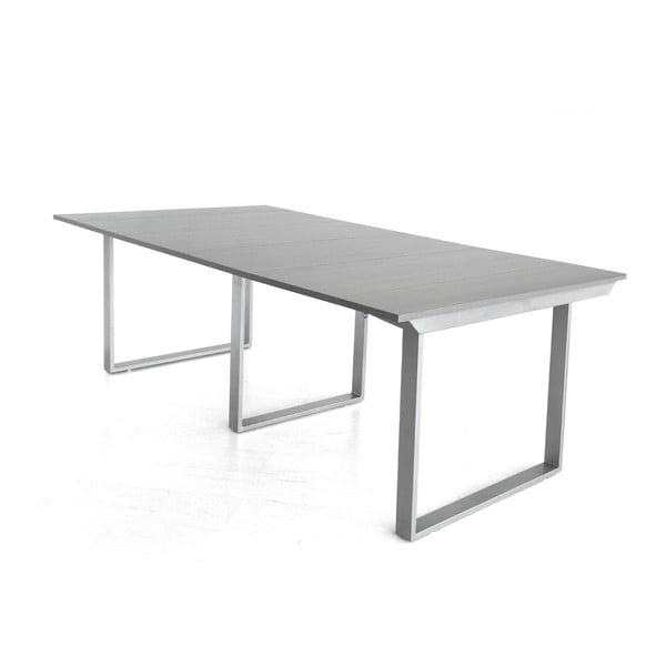 Rozkládací konzolový stůl Medus, šedý