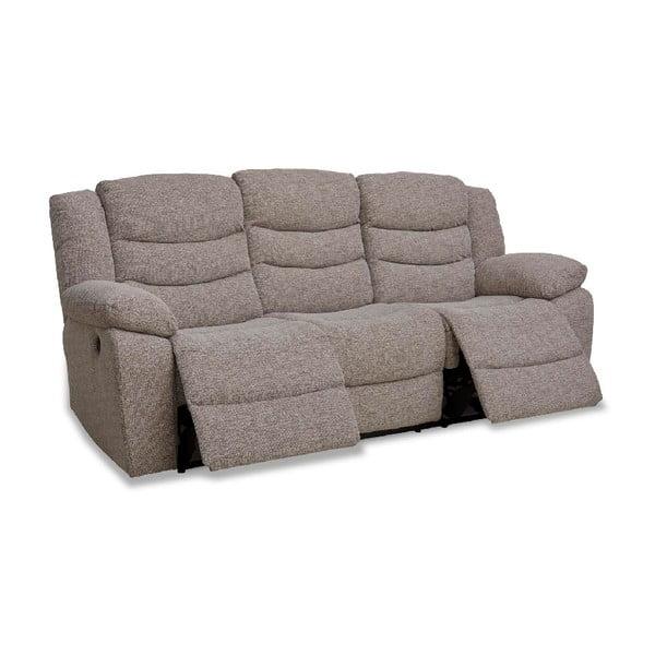 Canapea cu 3 locuri Furnhouse Grayson Retro, bej