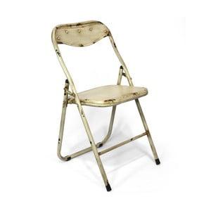 Skládací židle Harrison, krémová