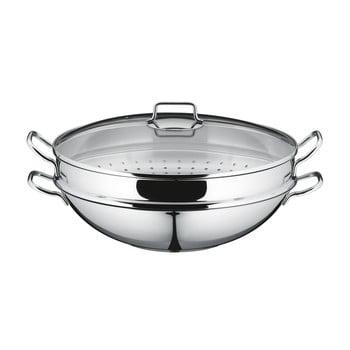 Tigaie wok din oțel inoxidabil WMF Cromargan® Macao imagine