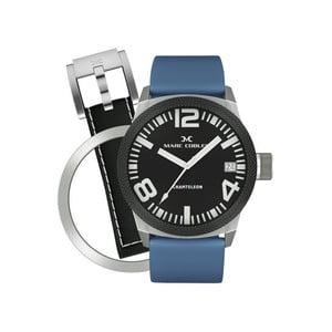 Unisex hodinky Marc Coblen s páskem a kroužkem navíc P10