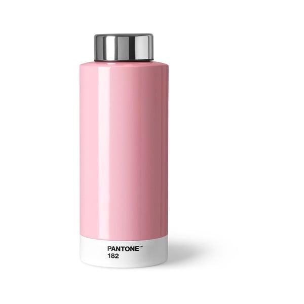 Světle růžová láhev znerezové oceli Pantone, 630ml
