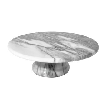Platou servire din marmură pentru tort Premier Housewares Pedra
