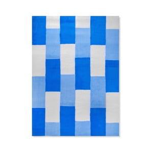 Dětský koberec Mavis Blue Lines, 100x150 cm