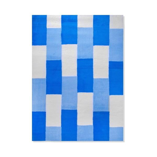 Dětský koberec Mavis Blue Lines, 120x180 cm