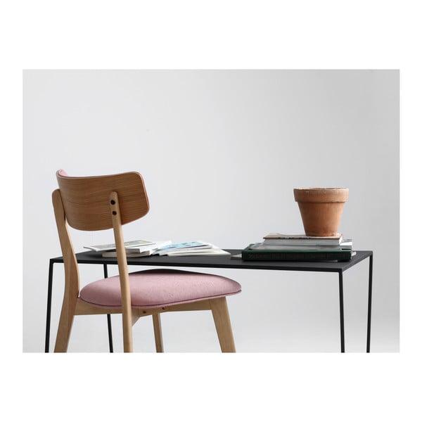 Măsuță de cafea Custom Form Zak, lungime 100 cm, negru