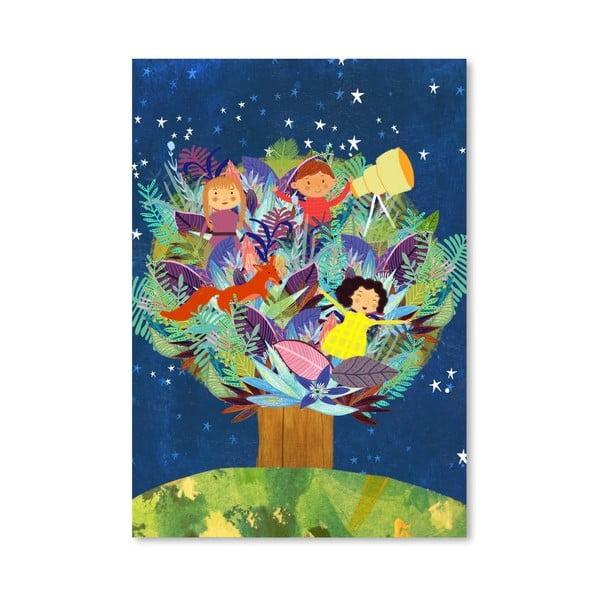 Plakát od Mia Charro - Tree