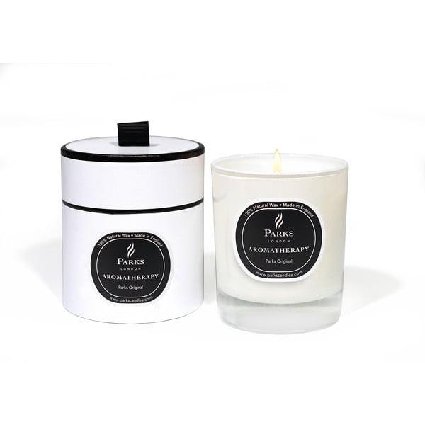 Lumânare Candles London Aromatherapy Parks Original, aromă de citrice, bergamota, lemn, 45 ore