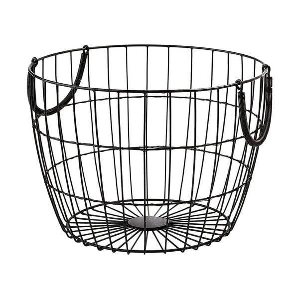 Kovový košík Troya, 36x26 cm z kavárny U Kubistů