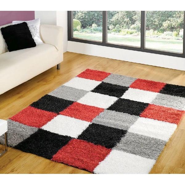 Červený koberec Flair Rugs Andes, 160 x 230 cm