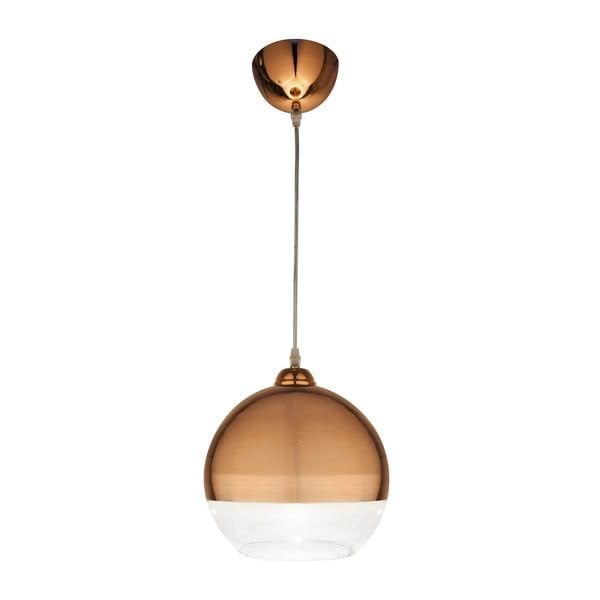 Závěsné svítidlo Scan Lamps Lux Copper, ⌀25 cm