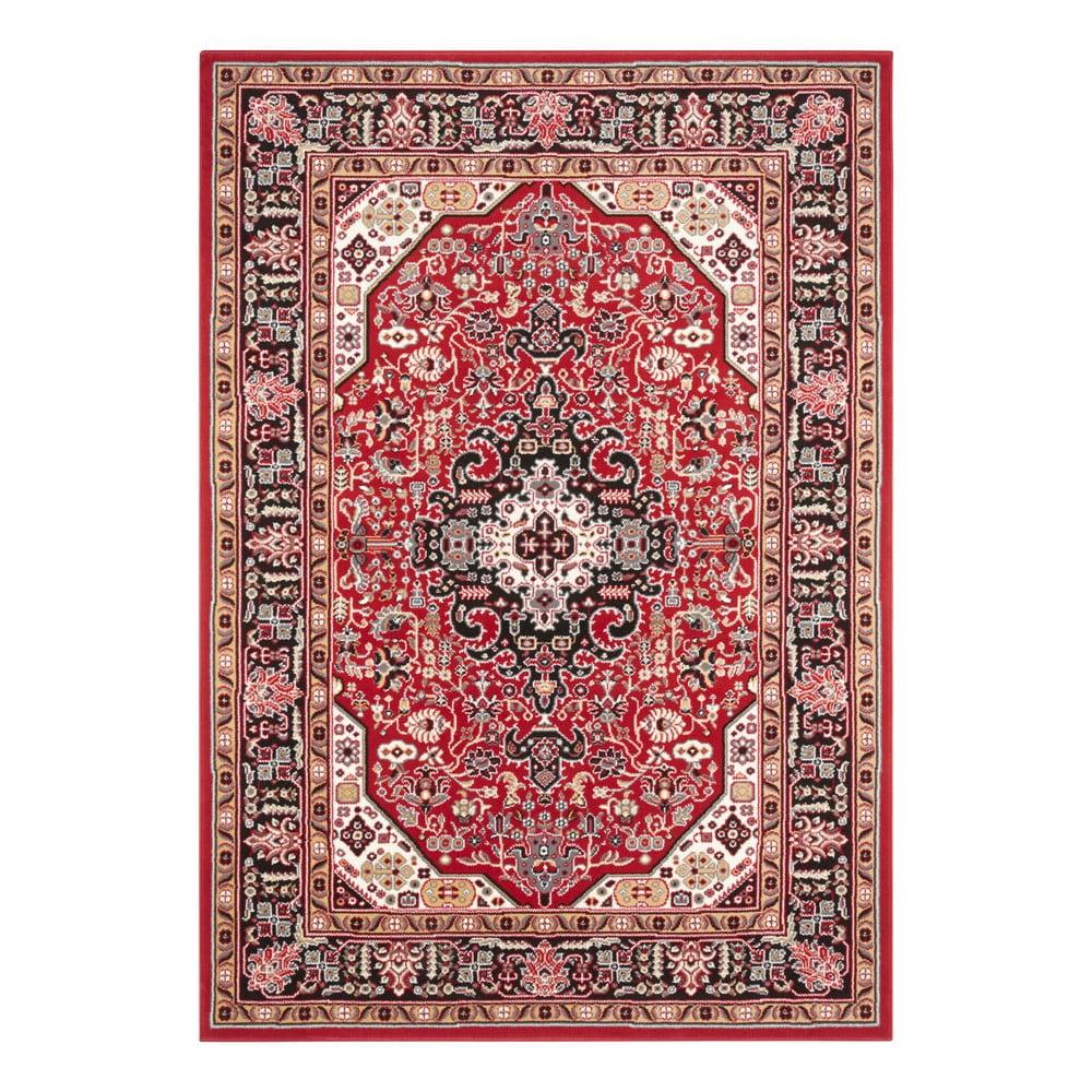 Červený koberec Nouristan Skazar Isfahan, 80 x 150 cm