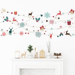 Vánoční samolepka Ambiance Tinsel Design