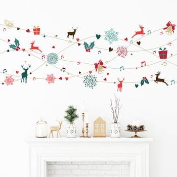 Autocolant Crăciun Ambiance Tinsel Design