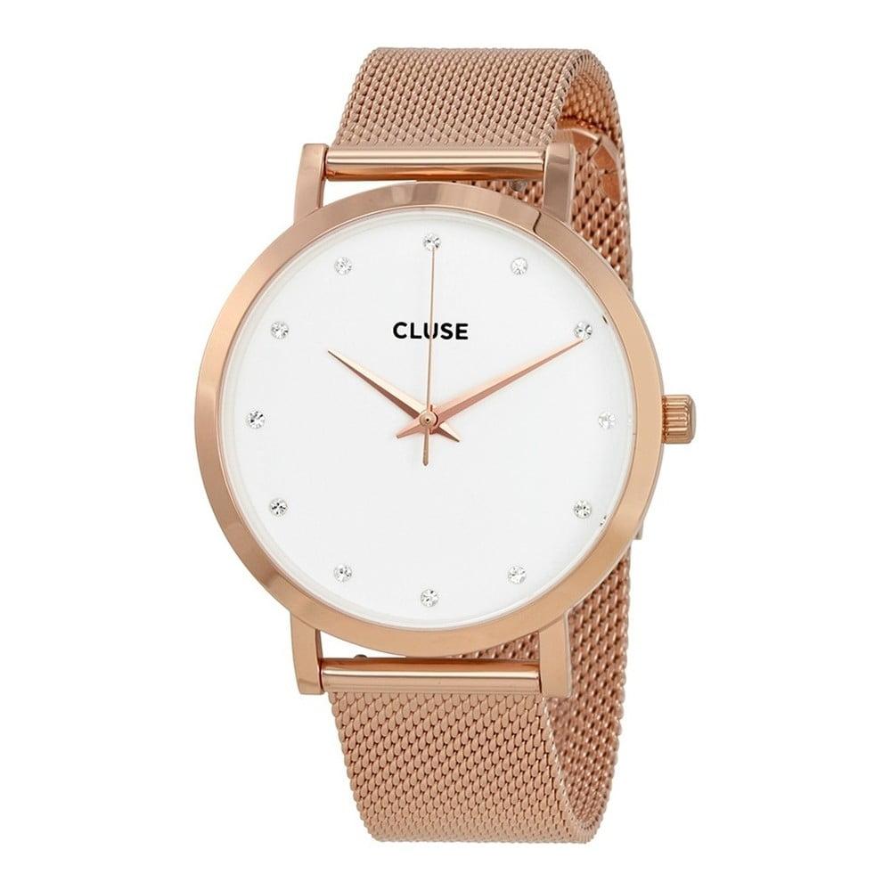 3211123cace Dámské hodinky Cluse La Bohéme Rose Gold Stones