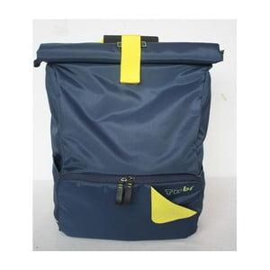 Velký batoh na kolo TUbí, modrá/žlutá