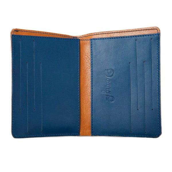 Danny P. kožená peněženka Pocket s kapsou na iPhone 5S Cognac