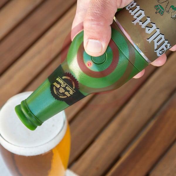 Zelený ultrazvukový pěnič piva Innovagoods Master Brewer