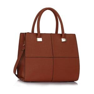 Hnědá kabelka L&S Bags Chesnay