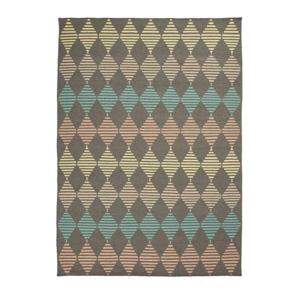 Ručně tkaný vlněný koberec Linie Design Stone, 140x200cm