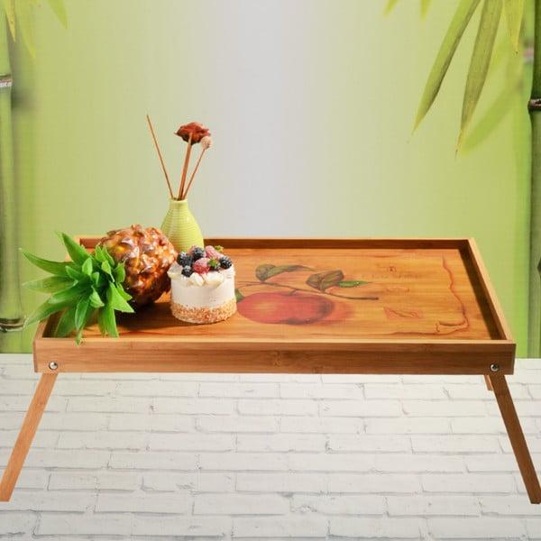 Bambusový tác do postele Flip