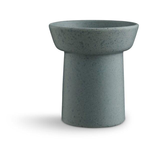 Ombria zöld agyagkerámia váza, magasság 13 cm - Kähler Design