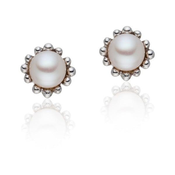 Náušnice Yamato Pearls Sterling Silver Dots