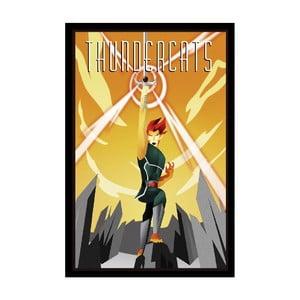 Plakát Thundercats, 35x30 cm