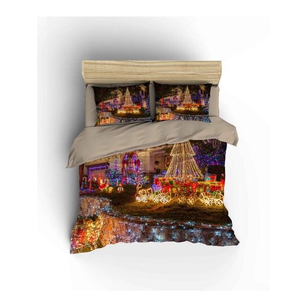 Lenjerie de pat din bumbac Vettie, 200 x 220 cm