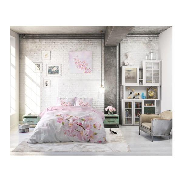 Bavlněné povlečení na dvoulůžko Sleeptime Sweet Flowers, 200 x 220 cm