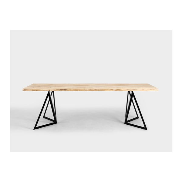 Jídelní stůl s deskou z borovicového dřeva Custom Form Sherwood Pine,240x100cm