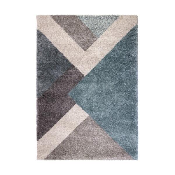 Modrý koberec Flair Rugs Zula, 120 x 170 cm