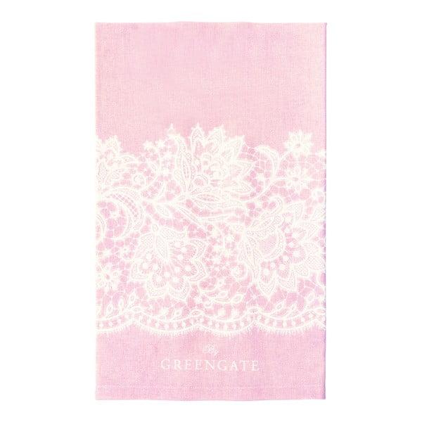 Utěrka Liva Pink, 50x70 cm