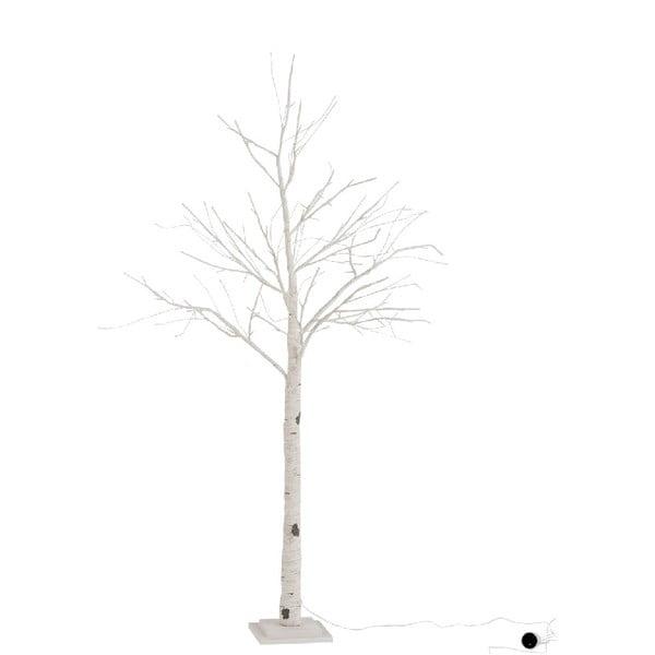 Svítící LED dekorativní papírový stromek J-Line Birch, výška160cm