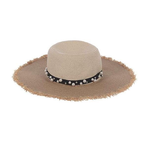 Slaměný klobouk Beige Natural