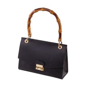 Černá kabelka z pravé kůže Andrea Cardone Drina