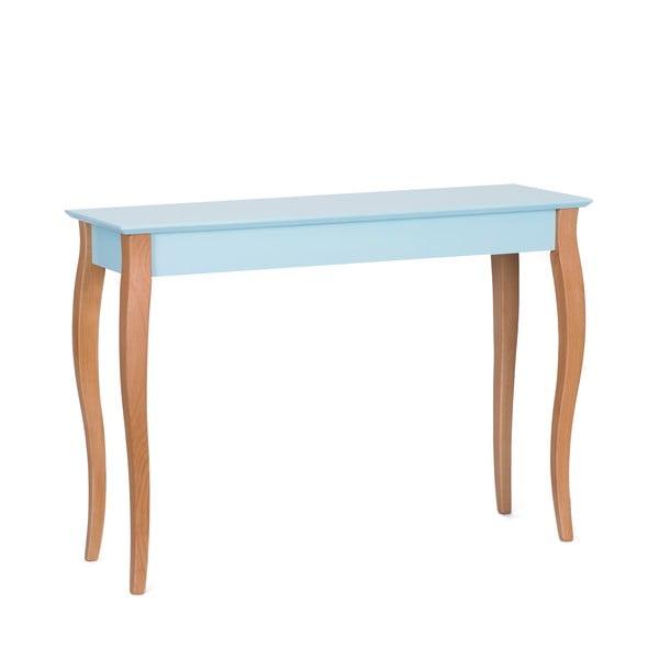 Console világos türkiz kisasztal, 105 cm hosszú - Ragaba