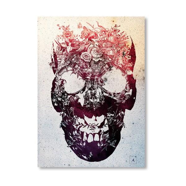Autorský plakát Skull