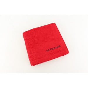 Ručník US Polo Hand Towel Red, 50x90 cm