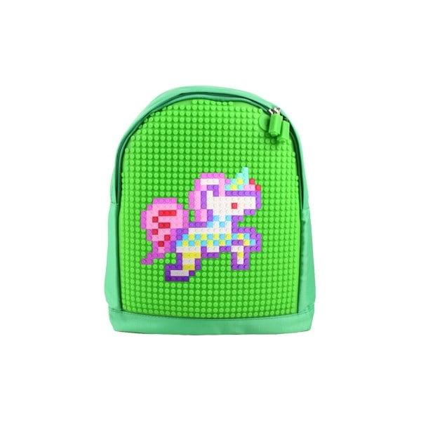 Dětský batoh Pixelbag green/green