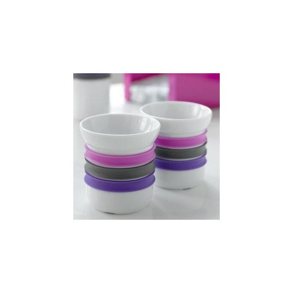 Sada 2 porcelánových hrnků na kávu Steel Function Porto, 150 ml