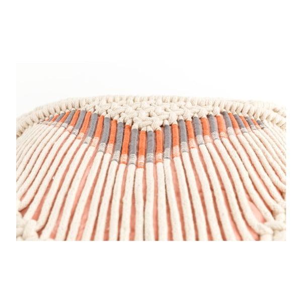Růžový polštář s výplní Zuiver Saar, 40x40cm