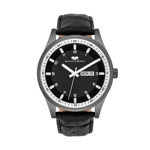 Pánské hodinky Rhodenwald&Söhne Couragian Black/Grey