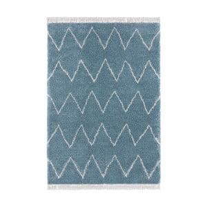 Modrý koberec Mint Rugs Rotonno, 120x170cm