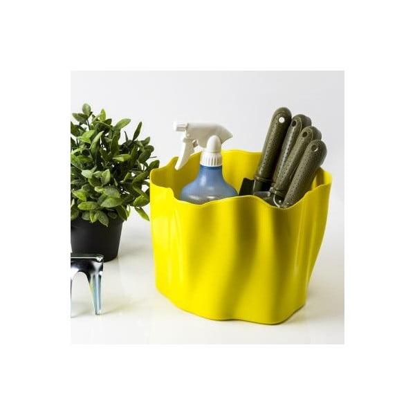 Multifunkční nádoba QUALY Flow Bucket, žlutá